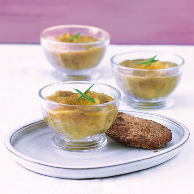 Photo de/du Caviar d'aubergine au curry par WW