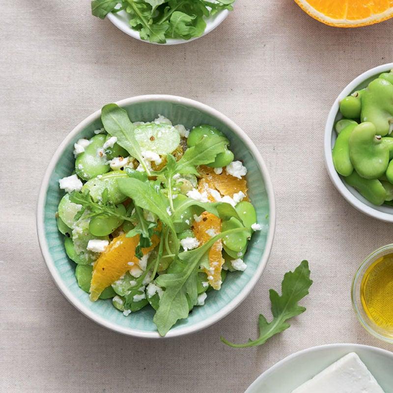 Photo de/du Salade de fèves à l'orange par WW