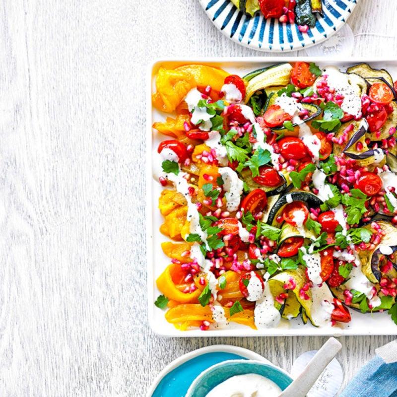 "Photo de/du Salade de légumes grillés ""arc-en-ciel"" par WW"