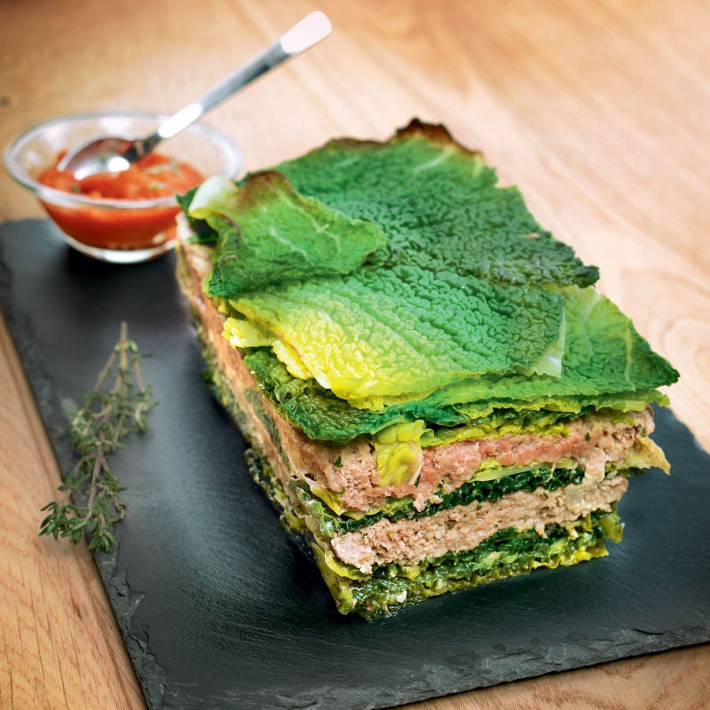 Photo de/du Millefeuille de chou au bœuf par WW