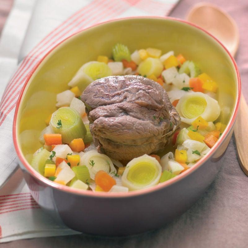 Photo de/du Jarret de bœuf aux légumes d'hiver par WW