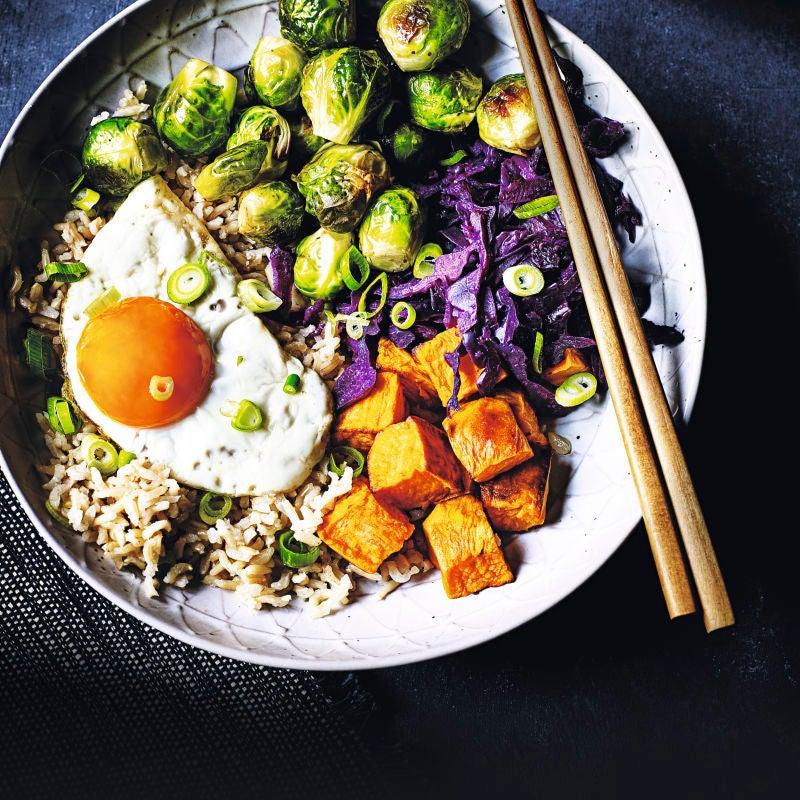 Photo de/du Bol végétarien façon asiatique par WW