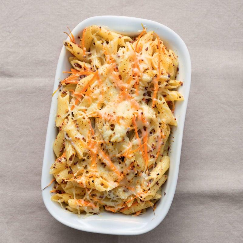 Photo de/du Gratin de penne et spaghetti de carottes par WW