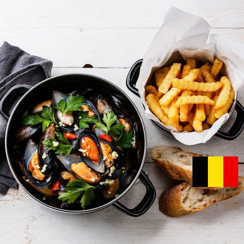 Photo de/du Moules marinières frites par WW