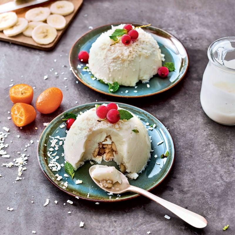 Photo de/du Mont blanc yaourt et banane par WW