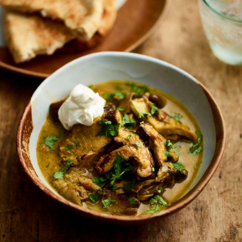 Photo de/du Curry de champignons par WW
