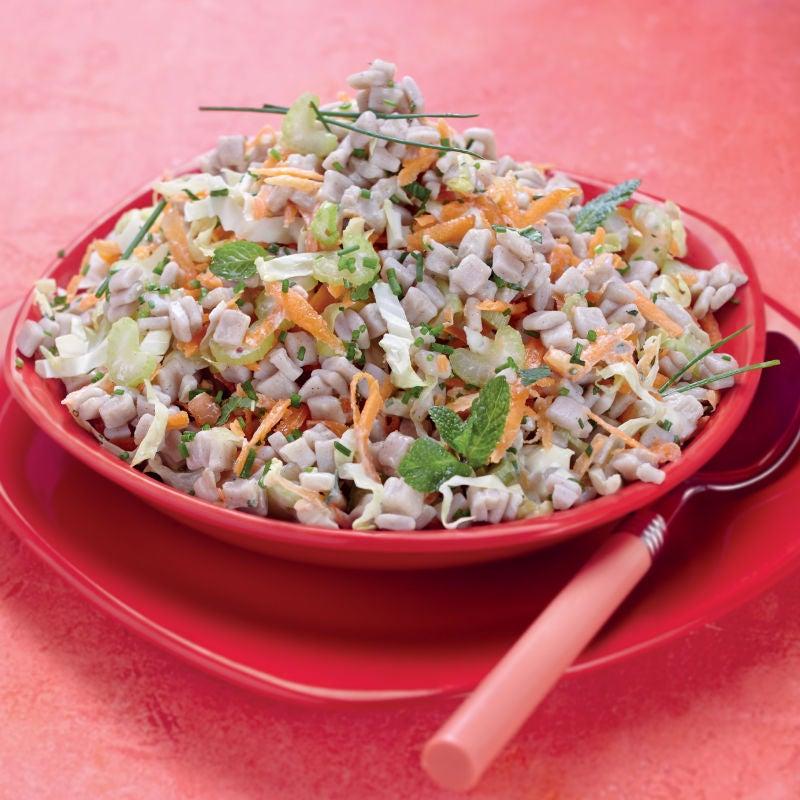 Photo de/du Salade de crozets aux crudités par WW