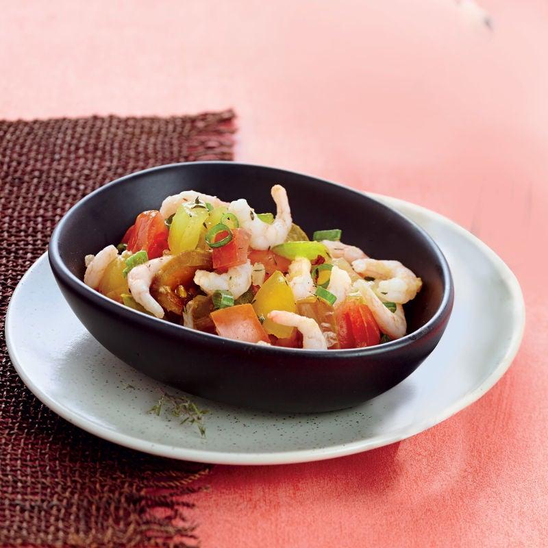 Photo de/du Rougail crevettes par WW