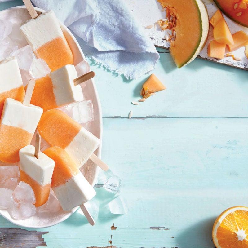 Photo de/du Pops de yaourt et de melon par WW