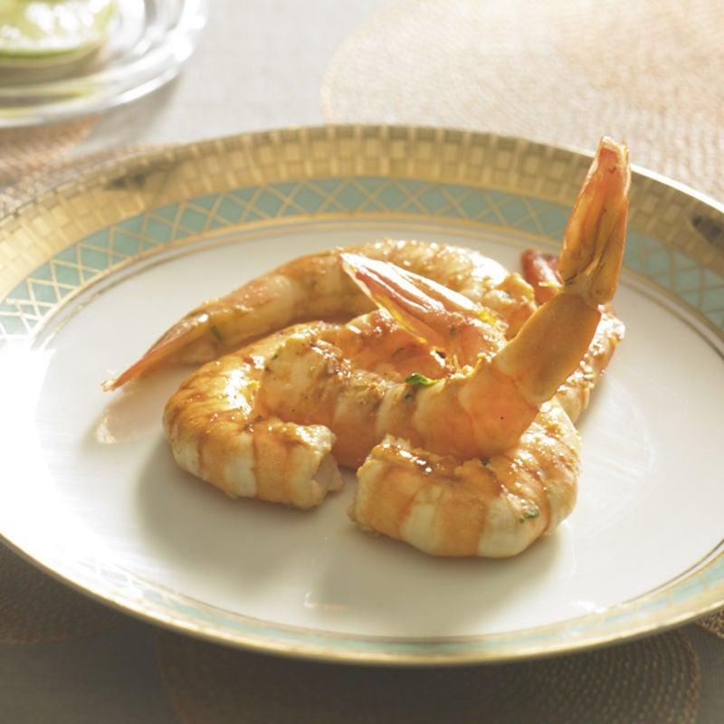 Photo de/du Grosses crevettes citron et cumin par WW