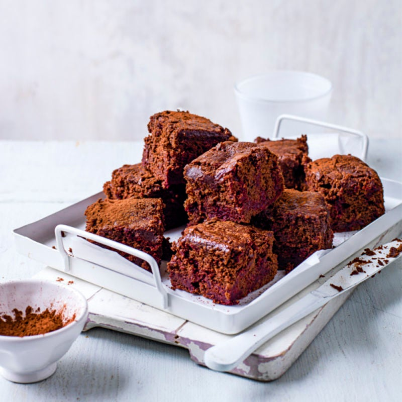 Photo de/du Brownies de betterave par WW