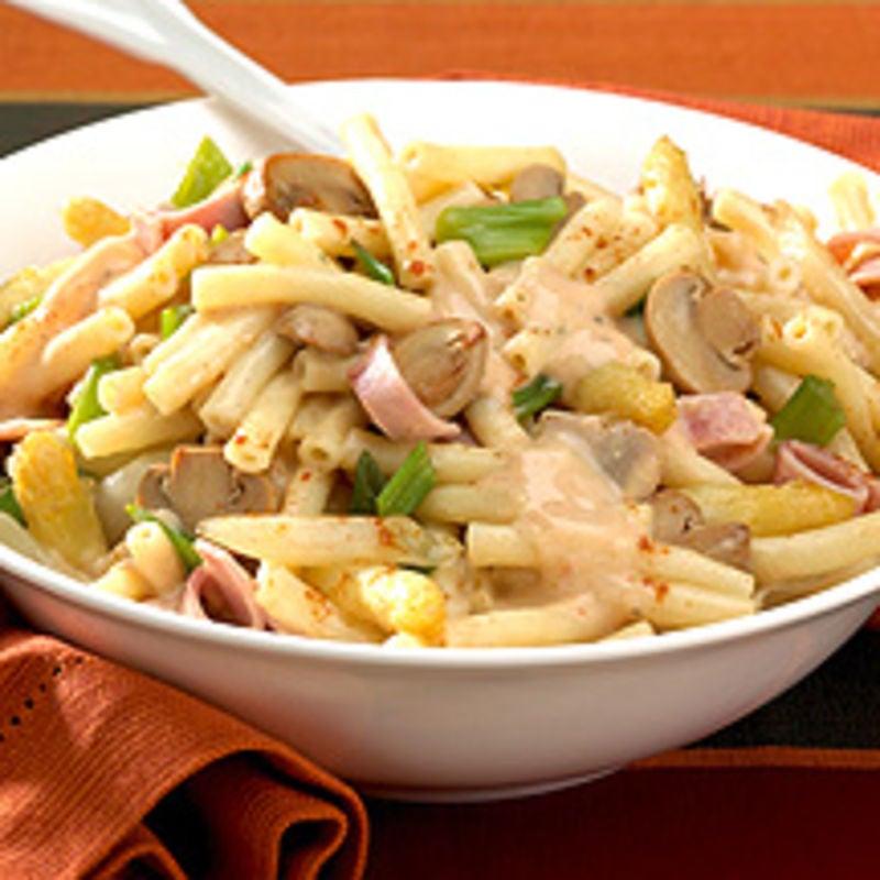 Photo de/du Macaroni au jambon et aux asperges par WW