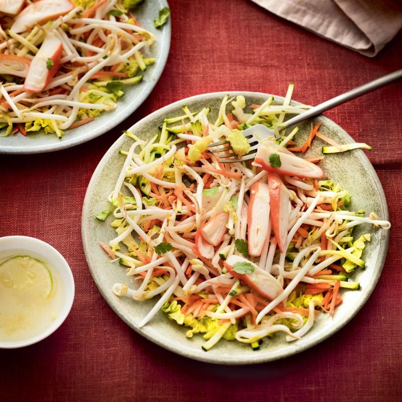 Photo de/du Salade express thaï au surimi par WW