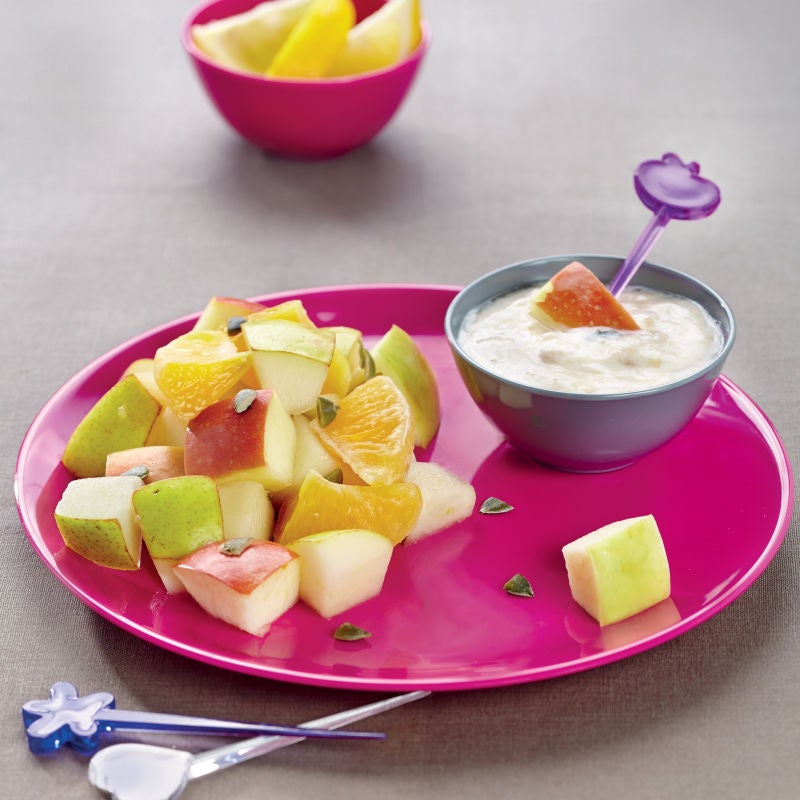 Photo de/du Bâtonnets de fruits et sauce dip à la banane par WW