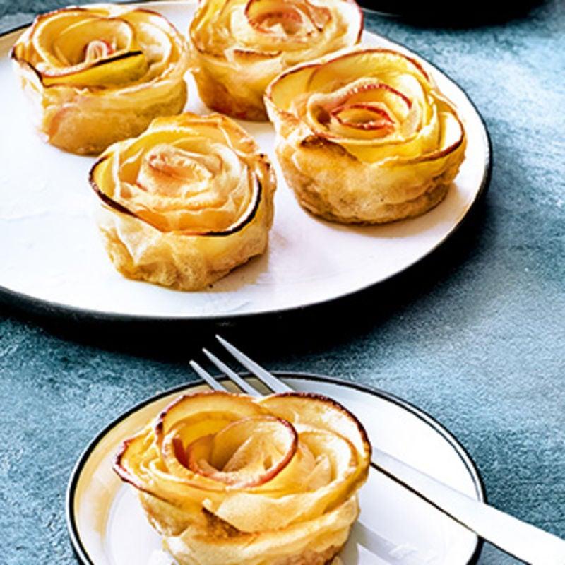 Photo de/du Petites roses à la pomme par WW